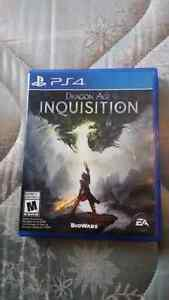 Dragon Age Inquisition for Ps4 Kitchener / Waterloo Kitchener Area image 1