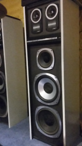 Bose Studio craft tower speakers