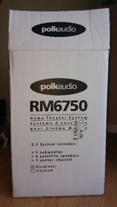 5.1 Home Theatre System : PolkAudio RM6750 + Dennon AVR-S510BT