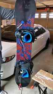 Excellent cond. BURTON snowboard, boots, bindings