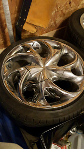 """17"""" MHT Luxury Alloy Wheels and Tires"""