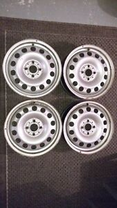 16 inch Metal Rims - Bolt Pattern 4X100 - ONLY $100.00