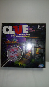 New in Box Clue Game 2013
