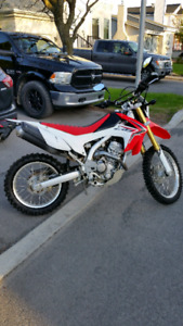 Honda Crf250l 2014 en super condition
