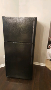 Black fridge