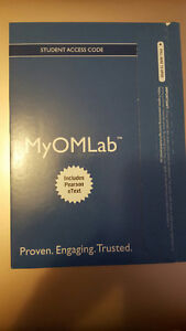 Operations Management MyOMLab Student Access Code