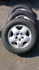 Winter Tires &Rims-P205/70R 15