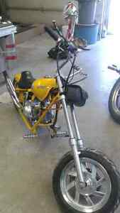 Custom 90cc mini chopper