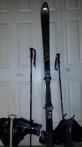 Ensemble de ski 180 cm usagé complet 139.00