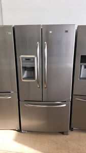 ECONOPLUS  MAYTAG  STAINLESS FRIDGE 799 $ TX INCLUDED