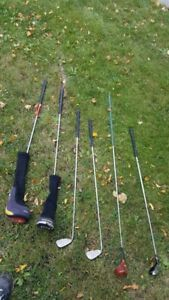 5 x GOLF CLUBS TaylorMade and Ping