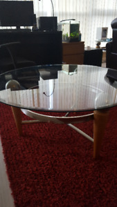 Glass Coffee Table $120 OBO