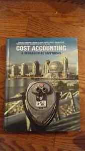 Managerial Accounting : Cost Accounting A Managerial Emphasis
