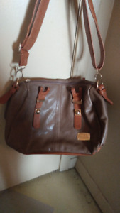 A variety of purses & bags