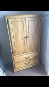 Solid Birch Armoire