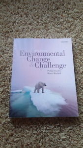 Environmental change and challenge