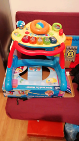 VTech Grow And Go 3-in-1 activity baby Walker