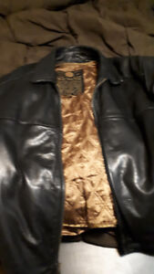 MARC NEW YORK Lined LEATHER JACKET