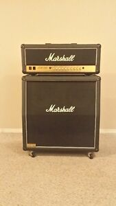 Marshall JCM900 Model 4500 and 1960A 300W speaker cabinet