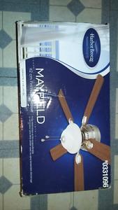 Harbour Breeze ceiling fan x2