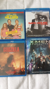 Various DVDs/Blu Rays