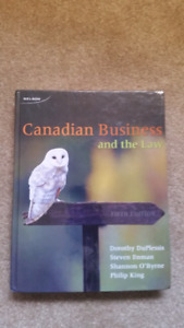 Canadian Law Textbook