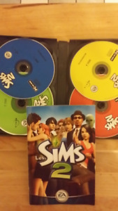 Sims 2 PC game/jeux