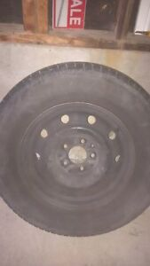 4 TIRES ON RIMS FOR SALE Cambridge Kitchener Area image 2