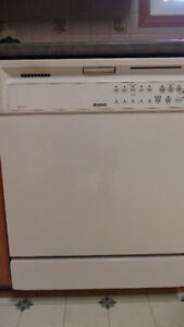 Dishwasher by Kenmore - white