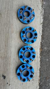 Wheel spacers adapter