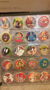 Pogs - vintage collectables.
