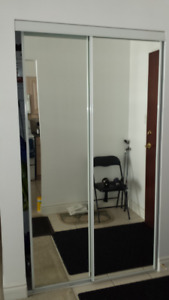 Sliding Mirror Door-W 46 inch x H 78 inch