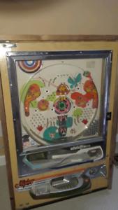 Wall mount pinball machine