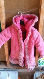 Girls coat size 4