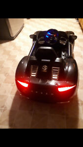 Childs electric car black