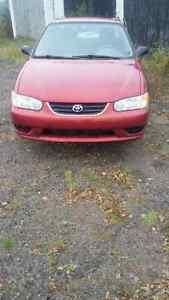 2002 Toyota Corolla Other