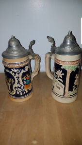 German Beer Mugs