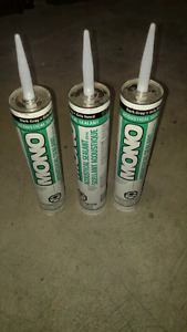 Mono dark grey acoustical sealant