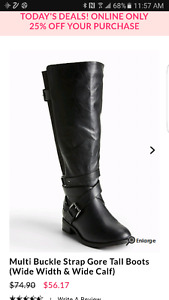 Multi Strap Tall Boots (Wide Width and Extended Wide Calf)