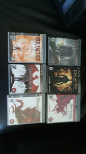 6 ps3 games for sale as a lot