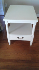 Two end tables or night standsSOLD