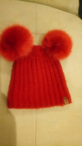 Roots Red Winter Toque / Hat