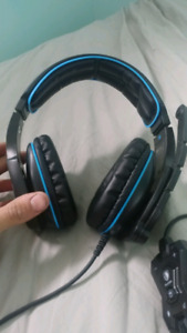 USB 7.1 gaming headphones