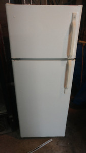 Fridges:  apt size and side by side