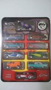 HOT WHEELS LARRY WOOD'S 35TH ANNIVERSARY COMMEMORATIVE CLASSICS