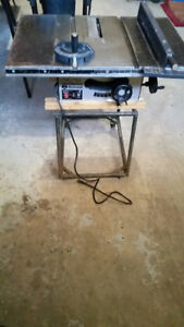 "Already sold sorry 10""Table saw complete $50"