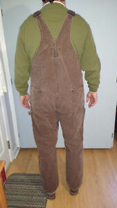 Tough Duck Overalls, Vest and Jacket