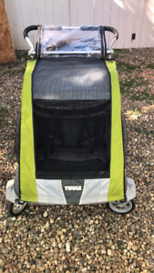 Thule Double Chariot - 3 years old