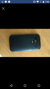 Moto g with otterbox 100$
