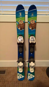 Collectible Vancouver 2010 Olympics Children's K2 Quatchi Skis